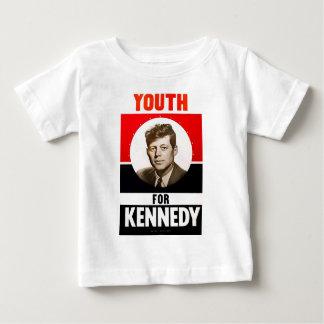 大統領のためのJohn F Kennedy青年 ベビーTシャツ