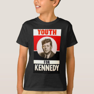 大統領のためのJohn F Kennedy青年 Tシャツ