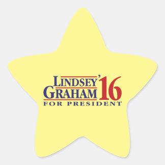 大統領のためのLindseyグラハム 星シール