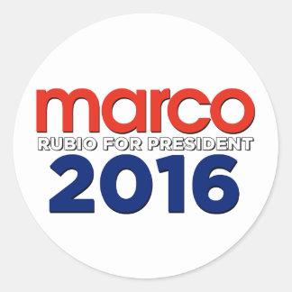 大統領のためのMarcoルビオ ラウンドシール
