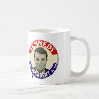 大統領のためのPin 1968年ヴィンテージロバートケネディ コーヒーマグカップ