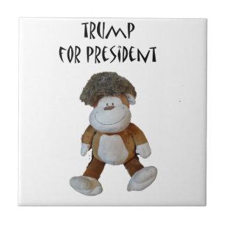大統領のためのPolitical Designおもしろいなドナルド・トランプ タイル
