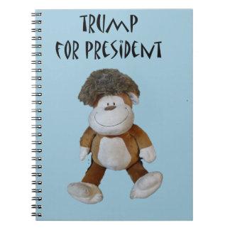 大統領のためのPolitical Designおもしろいなドナルド・トランプ ノートブック