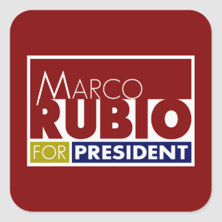 大統領のためのV1 Marcoルビオ スクエアシール