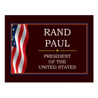 大統領のためのV3ランドポール ポストカード