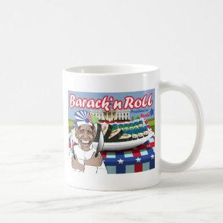大統領のな寿司からのバラクのnロール コーヒーマグカップ