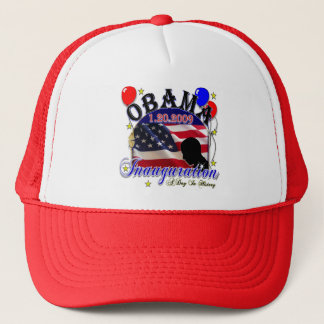 大統領のオバマ2009年就任式 キャップ