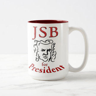 大統領のマグのためのBach ツートーンマグカップ