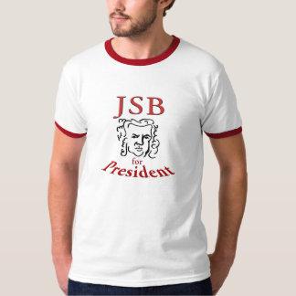 大統領の信号器のためのBach Tシャツ