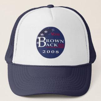 大統領の帽子のためのBrownback キャップ