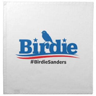 大統領の#Birdieの#BirdieSandersのための小鳥 ナプキンクロス