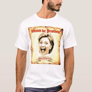 大統領のTシャツのために望まれるヒラリー・クリントン2016 Tシャツ