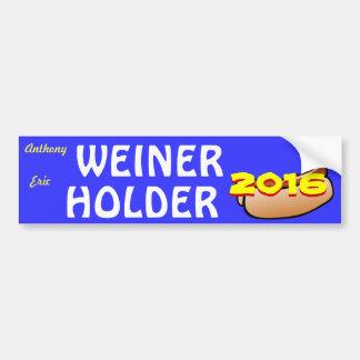大統領または副大統領2016年のためのウィーナーのホールダー バンパーステッカー