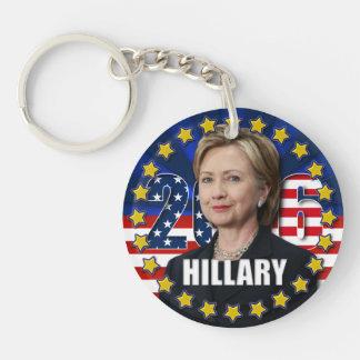 大統領アクリルKeychainのためのヒラリー・クリントン キーホルダー