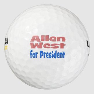 大統領ゴルフ・ボール、ピンク及び青のために西アレン ゴルフボール