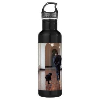 大統領バラク及びBoオバマ ウォーターボトル