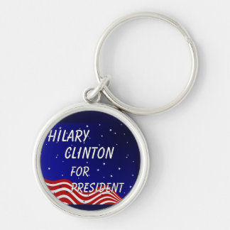 大統領夜空のためのヒラリークリントン キーホルダー