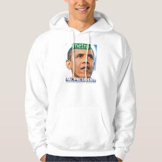 大統領歴史的な新聞のスエットシャツ パーカ