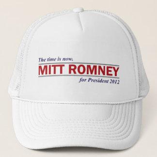 大統領2012のためのミット・ロムニーは時間今あります キャップ