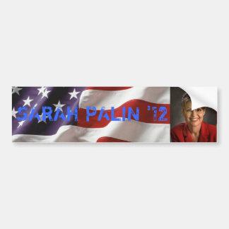 大統領2012バンパーステッカーのためのサラ・ペイリン氏 バンパーステッカー