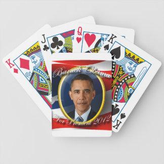 大統領2012年のためのバラック・オバマ バイスクルトランプ