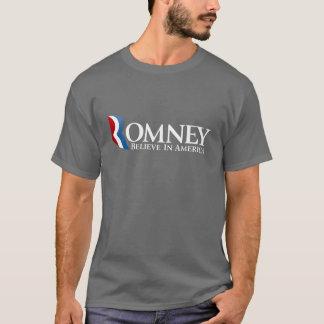 大統領2012年のためのミット・ロムニー Tシャツ