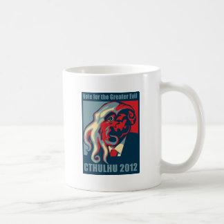 大統領2012年のためのCthulhu コーヒーマグカップ