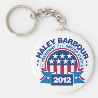大統領2012年のためのHaley Barbour キーホルダー