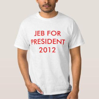 大統領2012年のためのJEB Tシャツ
