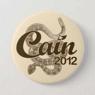 """大統領2012 DTOM """"茶ボタン""""のためのヘルマンカイン 7.6CM 丸型バッジ"""