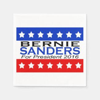 大統領2016キャンペーンのためのベルニーの研摩機 スタンダードカクテルナプキン