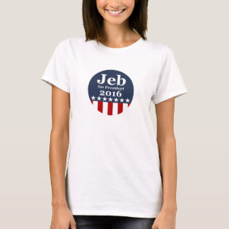 大統領2016キャンペーンのTシャツのためのJeb Tシャツ