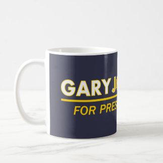 大統領2016マグのためのギャリージョンソン コーヒーマグカップ
