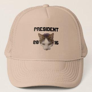 大統領2016年のためののための猫 キャップ