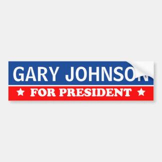 大統領2016年のためのギャリージョンソン バンパーステッカー