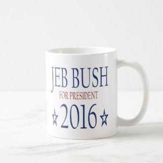 大統領2016年のためのジェブ・ブッシュ コーヒーマグカップ