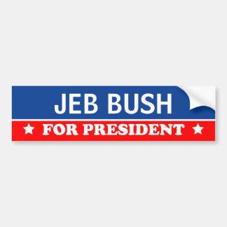 大統領2016年のためのジェブ・ブッシュ バンパーステッカー