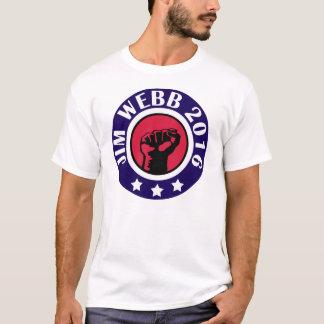 大統領2016年のためのジムWEBB Tシャツ
