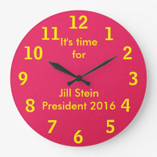 大統領2016年のためのジルステイン ラージ壁時計