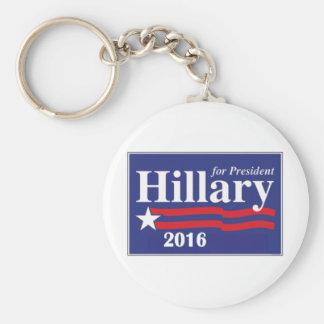 大統領2016年のためのヒラリー・クリントン キーホルダー