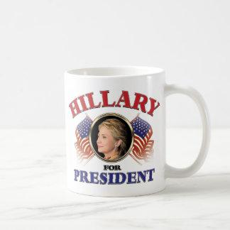 大統領2016年のためのヒラリー・クリントン コーヒーマグカップ
