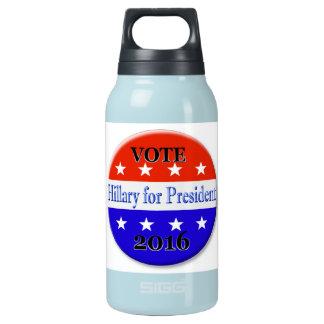 大統領2016年のためのヒラリー・クリントン 断熱ウォーターボトル