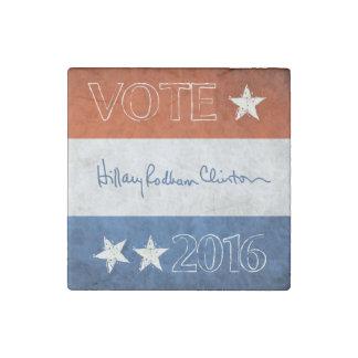 大統領2016年のためのヒラリー ストーンマグネット