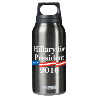大統領2016年のためのヒラリー 断熱ウォーターボトル