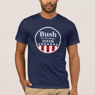 大統領2016年のためのブッシュ Tシャツ