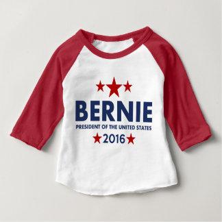 大統領2016年のためのベルニーの研摩機 ベビーTシャツ