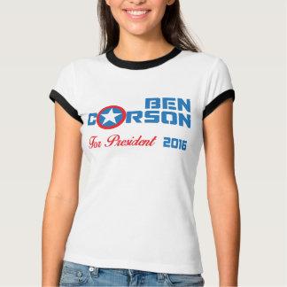 大統領2016年のためのベンカーソン Tシャツ
