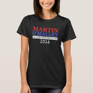大統領2016年のためのマーティンO'Malley Tシャツ