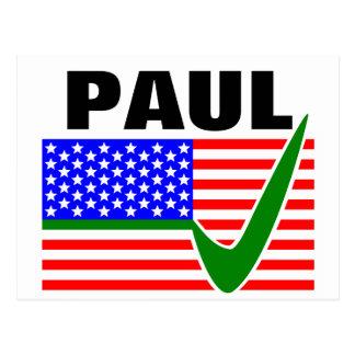 大統領2016年のためのランドポール ポストカード