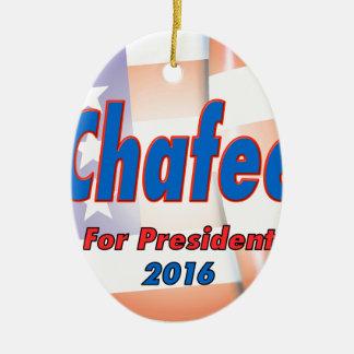 大統領2016年のためのリンカーンChafee セラミックオーナメント